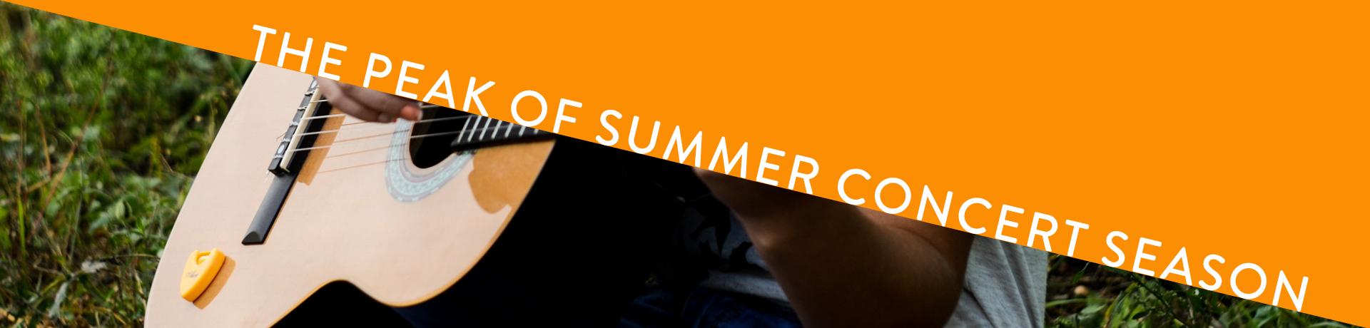 The Peak of Summer Concert Season